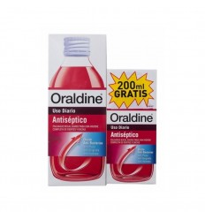 ORALDINE ANTISEPTICO  PACK 400 ML 200 ML