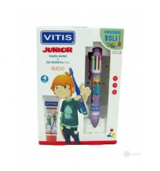 KIT DENTAL VITIS JUNIOR  GEL  CEPILLO