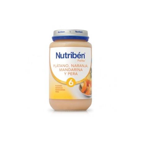 NUTRIBEN  PLATANO-NARANJA-MANDARINA-PERA 250GR