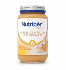 NUTRIBEN BEBE POSTRE FRUTAS CON CEREALES  130GR