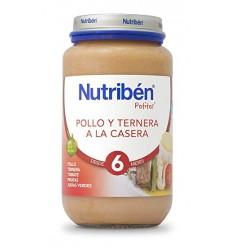 NUTRIBEN POLLO CON TERNERA  CASERA 250GR