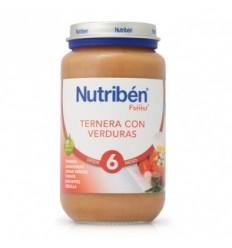 NUTRIBEN JUNIOR TERNERA CON VERDURAS 200GR.
