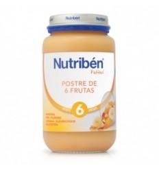 NUTRIBEN JUNIOR POSTRE DE FRUTAS 200GR.