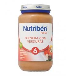 NUTRIBEN  TERNERA CON VERDURAS . 250GR