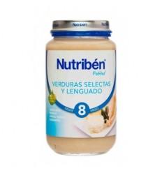 NUTRIBEN JUNIOR LENGUADO VERDURAS 200GR.