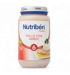 NUTRIBEN JUNIOR POLLO CON ARROZ 200GR.