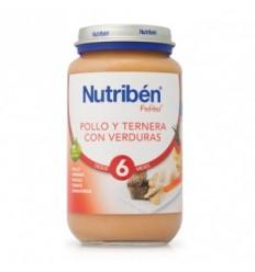 NUTRIBEN  POLLO CON TERNERA  Y VERDURAS 250G