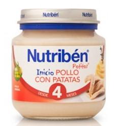 NUTRIBEN BEBE INICIO PECHUGA CON PATATA 130G